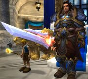Varian in Stormwind