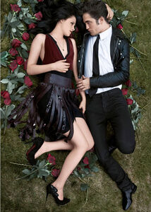 Robert Pattinson and Kristin Stewart in Bazaar (11)
