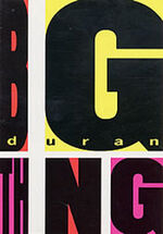 Big thing book duran