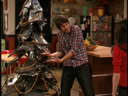 Spencer&#39;s Junkyard Christmas Tree