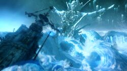 FFXIII crystal lake