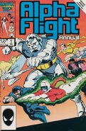 Alpha Flight Annual Vol 1 1