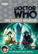 The Deadly Assassin DVD UK cover