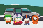 South Park Away Team