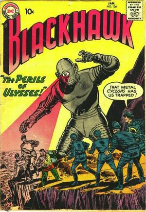 Cover for Blackhawk #120