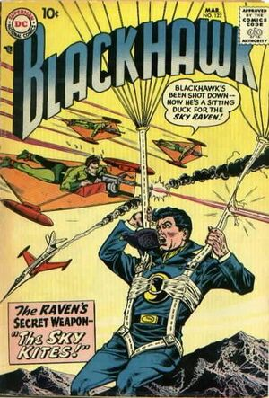 Cover for Blackhawk #122