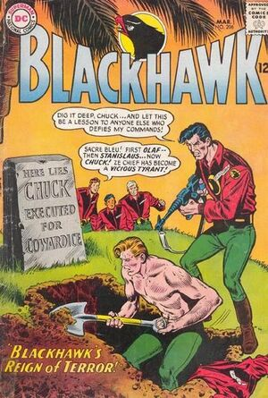 Cover for Blackhawk #206
