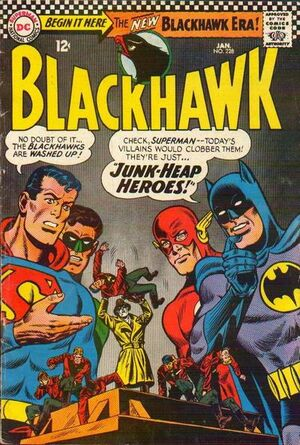Cover for Blackhawk #228