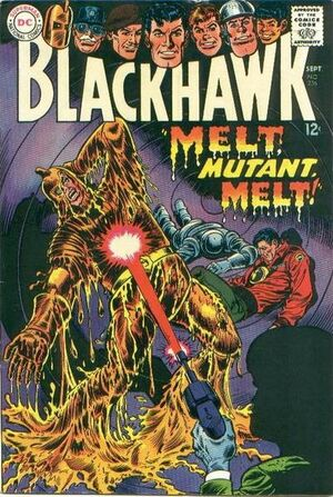 Cover for Blackhawk #236