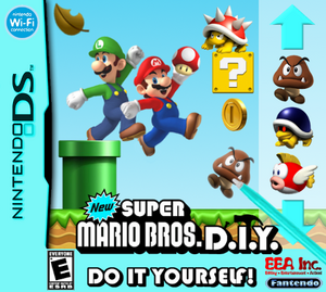 NSMB D.I.Y. NA Boxart
