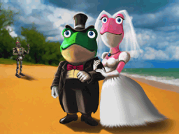 A Froggy Wedding