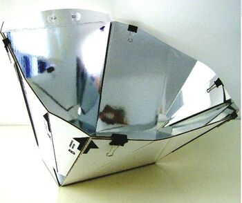 Diamond Solar Cooker photo 1