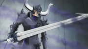 Genkishi Weilding the Illusion Sword