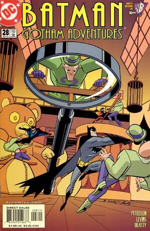 Cover for Batman: Gotham Adventures #28