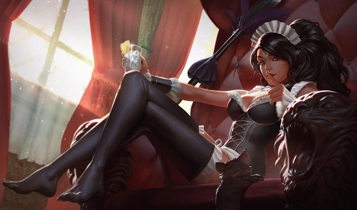 French Maid Nidalee.
