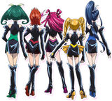 Toei - Movie 1 - Dark Pretty Cure 5 back