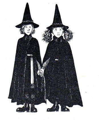 Авторские рисунки Джилл Мерфи. - Страница 4 348px-Worst_witch_book3004