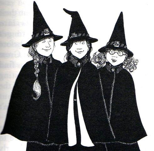 Авторские рисунки Джилл Мерфи. - Страница 2 491px-Worst_witch_book5004