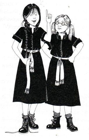 Авторские рисунки Джилл Мерфи. - Страница 2 305px-Worst_witch_book6001