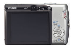 PowerShot SD700 IS back