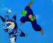 Piccolo vs Cell Junior