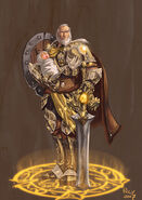 Anduin Lothar Lion of Azeroth by pulyx