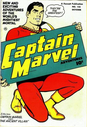 Cover for Captain Marvel Adventures #125