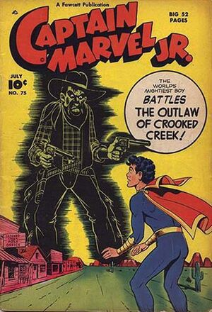 Cover for Captain Marvel, Jr. #75