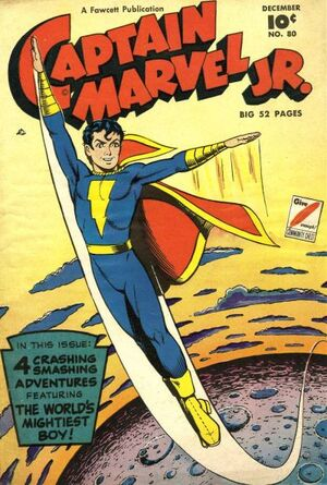 Cover for Captain Marvel, Jr. #80