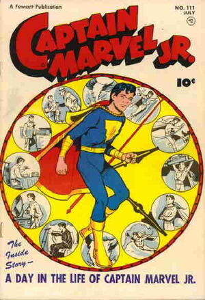 Cover for Captain Marvel, Jr. #111