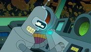 Bender the science officer