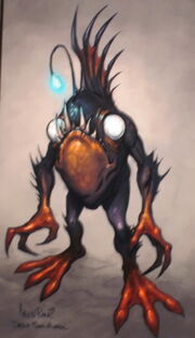 Deep Sea Murloc concept art