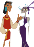 Kuzco and yzma