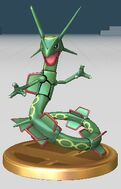 Rayquaza Trofeo SSBB