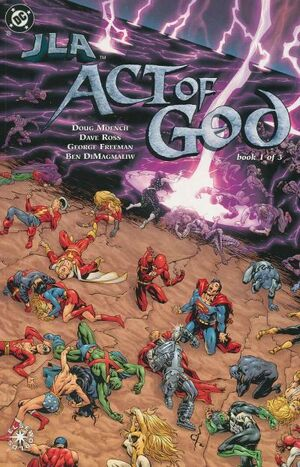 Cover for JLA: Act of God #1