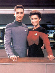 Brandi Sherwood and Wil Wheaton