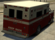 Ambulancia detrás GTA IV