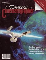 American Cinematographer cover July 1989