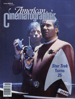 American Cinematographer cover January 1992