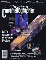 American Cinematographer cover April 1995