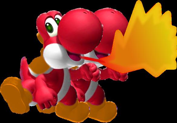 Fire Yoshi     pngFire Yoshi