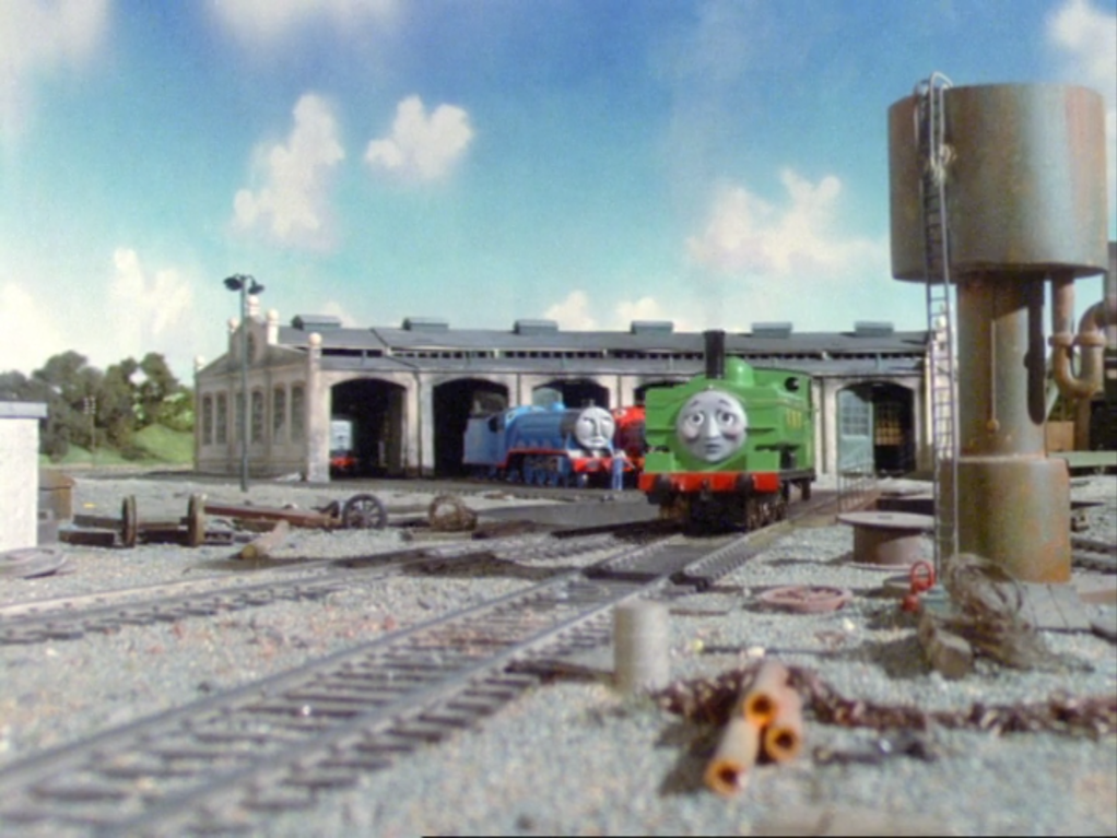 Duck and Oliver's Crazy Great Western Adventures: It's Thomas, but with a twist. DirtyWork28