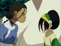 Katara en Toph