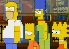 Pixelated Simpsons