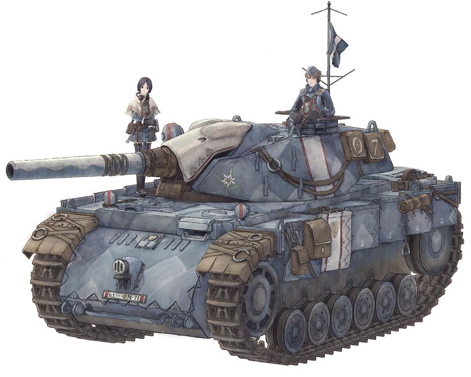Wintertarnung Panther Vc-tank-edelweiss