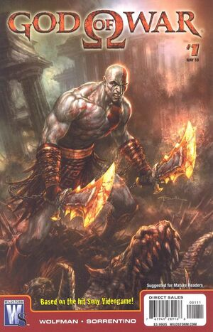 Cover for God of War #1