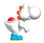 White YoshiSMWWii