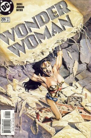 Cover for Wonder Woman #206