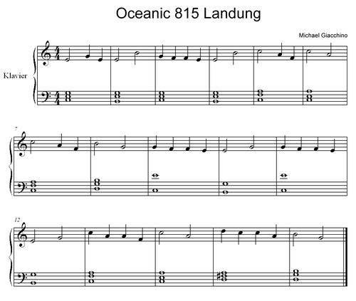 Oceanic 815 Landung