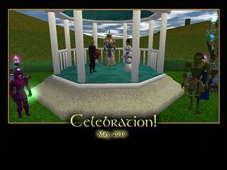 Celebration Splash Screen